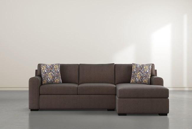 """Cypress II Down 2 Piece 105"""" Sectional With Right Arm Facing Chaise - 360"""