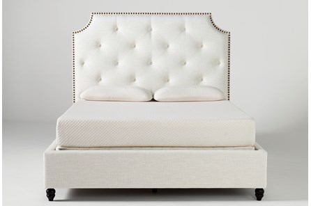 Sophia II California King Upholstered Panel Bed