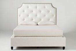 Sophia II Eastern King Upholstered Panel Bed