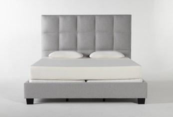 Boswell California King Upholstered Panel Bed