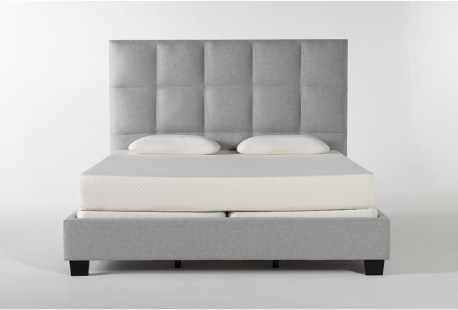 Boswell California King Upholstered Panel Bed - 360