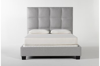 Boswell Queen Upholstered Panel Bed