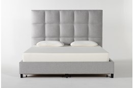 Boswell California King Upholstered Panel Bed With Storage