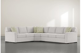 "Aspen Down 3 Piece 126"" Sectional With Right Arm Facing Sofa"