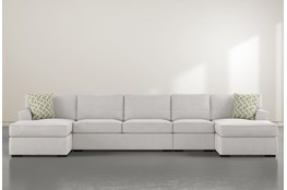 "Aspen Down 4 Piece 156"" Sectional"