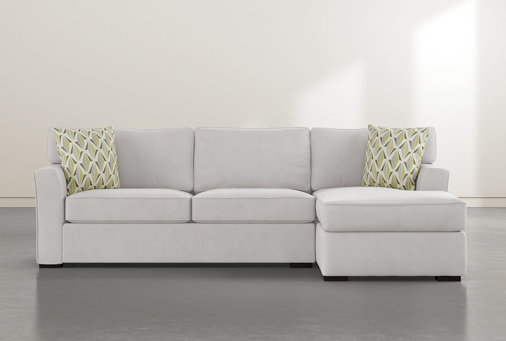"""Aspen Down 2 Piece 105"""" Sectional With Right Arm Facing Chaise"""