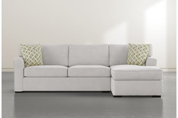 "Aspen Down 2 Piece 105"" Sectional With Right Arm Facing Chaise"