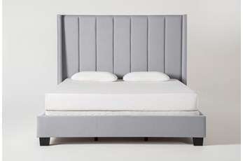 Topanga Queen Upholstered Panel Bed