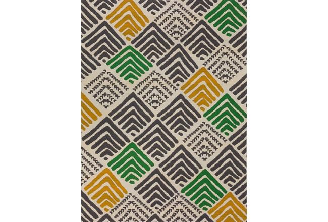 98X120 Rug-Peaks Yellow/Green - 360