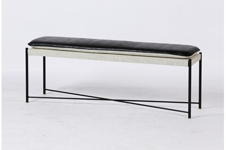Black + White Bench - Main