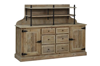 Reclaimed Kitchen Hutch