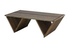 Dark Elm Coffee Table