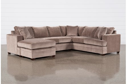 Kerri Stone 2 Piece Sectional With Left Arm Facing Sofa Chaise