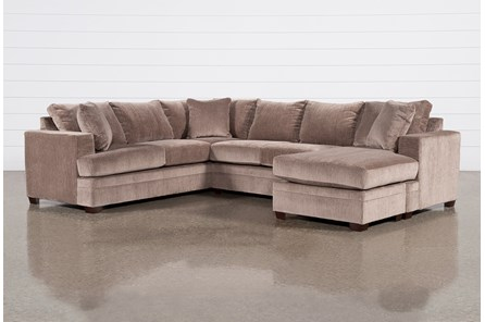 Kerri Stone 2 Piece Sectional With Right Arm Facing Sofa Chaise