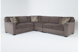 "Cypress II Down Piece 118"" Sectional With Right Arm Facing Loveseat"