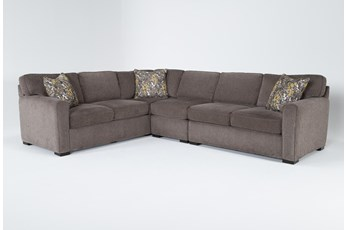 Cypress II Down Piece Sectional With Right Arm Facing Loveseat