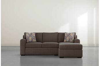 "Cypress II Down 93"" Sofa With Reversible Chaise"