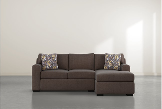 """Cypress II Down 93"""" Sofa With Reversible Chaise - 360"""