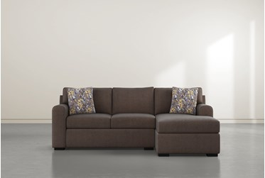 """Cypress II Down 93"""" Sofa With Reversible Chaise & Storage Ottoman"""