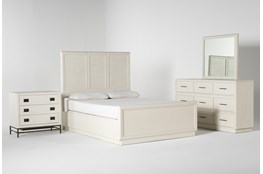 Centre Queen Panel 4 Piece Bedroom Set By Nate Berkus And Jeremiah Brent