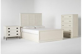 Centre Eastern King Panel 3 Piece Bedroom Set By Nate Berkus And Jeremiah Brent