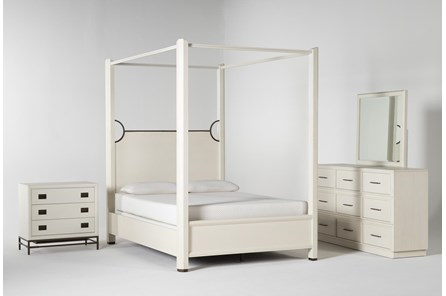 Centre Eastern King Canopy 4 Piece Bedroom Set By Nate Berkus And Jeremiah Brent - Main