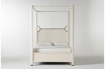 Centre Eastern King Canopy Bed By Nate Berkus And Jeremiah Brent