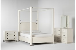 Centre California King Canopy 4 Piece Bedroom Set By Nate Berkus And Jeremiah Brent