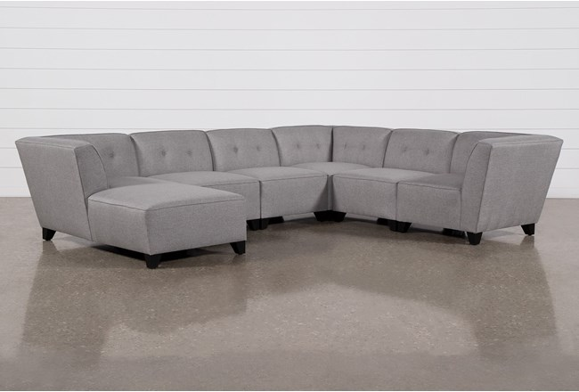 Benton III 6 Piece Sectional With Left Arm Facing Chaise - 360