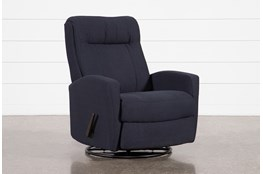 Dale IV Fabric Swivel Glider Recliner