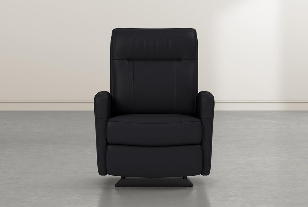 Dale IV Leather Power Rocker Recliner With Power Headrest