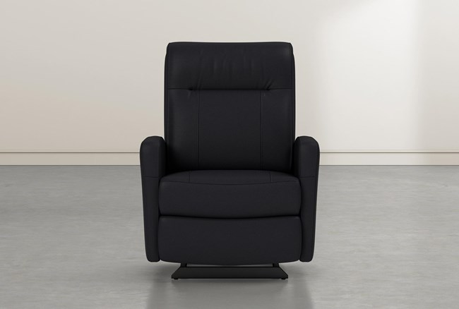 Dale IV Leather Power Rocker Recliner With Power Headrest - 360