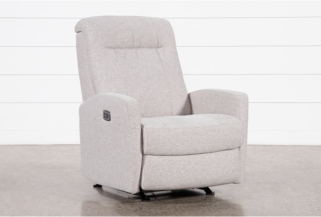 Dale IV Fabric Power Rocker Recliner With Power Headrest - 360