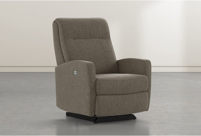 Dale IV Nightingdale Fabric Power Rocker Recliner With Power Headrest - 360