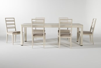 Centre 7 Piece Extension Dining Set With Side Chairs By Nate Berkus And Jeremiah Brent