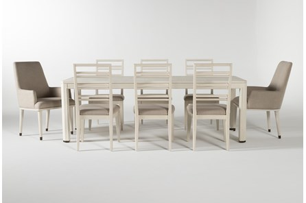 Centre 9 Piece Extension Dining Set With Side And Arm Chairs By Nate Berkus And Jeremiah Brent - Main