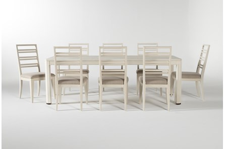 Centre 9 Piece Extension Dining Set With Side Chairs By Nate Berkus And Jeremiah Brent - Main