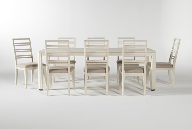 Centre 9 Piece Extension Dining Set With Side Chairs By Nate Berkus And Jeremiah Brent - 360