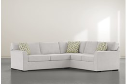 "Aspen Sterling Foam 2 Piece 108"" Sectional With Left Arm Facing Condo Sofa"