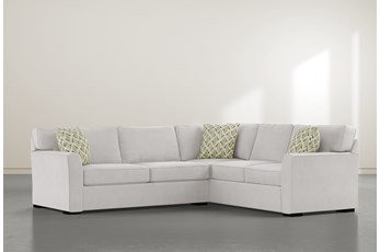 """Aspen Sterling Foam 2 Piece 108"""" Sectional With Left Arm Facing Condo Sofa"""