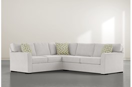 "Aspen Sterling Foam 2 Piece 108"" Sectional With Right Arm Facing Condo Sofa"
