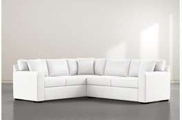 Cypress II Foam 2 Piece Sectional With Right Arm Facing Condo Sofa