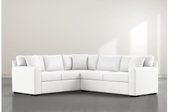 """Cypress II Foam 2 Piece 104"""" Sectional With Right Arm Facing Condo Sofa"""