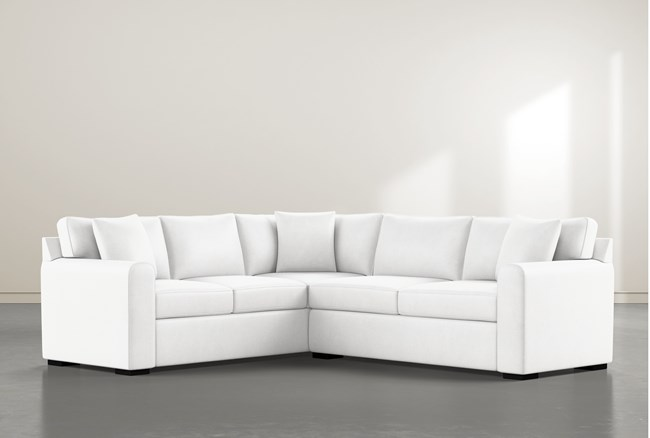 """Cypress II Foam 2 Piece 104"""" Sectional With Right Arm Facing Condo Sofa - 360"""
