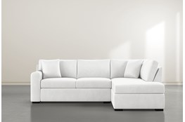 Cypress II Foam 2 Piece Sectional With Right Arm Facing Armless Chaise