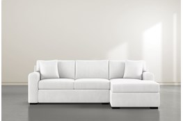 Cypress II Foam 2 Piece Sectional With Right Arm Facing Chaise