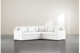 Cypress II Foam 2 Piece Sectional With Left Arm Facing Condo Sofa