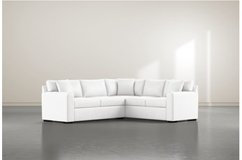 """Cypress II Foam 2 Piece 104"""" Sectional With Left Arm Facing Condo Sofa"""