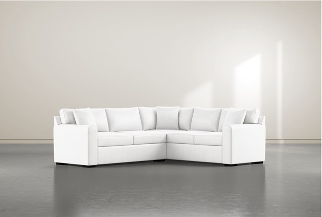 """Cypress II Foam 2 Piece 104"""" Sectional With Left Arm Facing Condo Sofa - 360"""