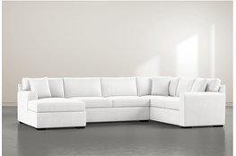 Cypress II Foam 3 Piece Sectional With Left Arm Facing Chaise